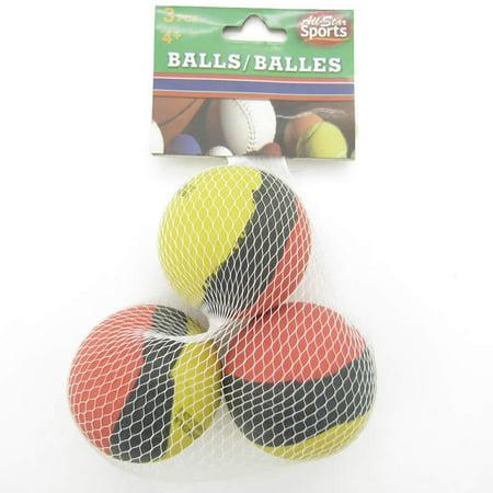 Hi Bounce 2 Inch Rubber Balls 3pk Assorted Colors - Rubber Bouncy Balls