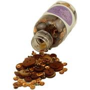 28 Lilac Lane Embellishment Bottle Kit-Toasted Graham
