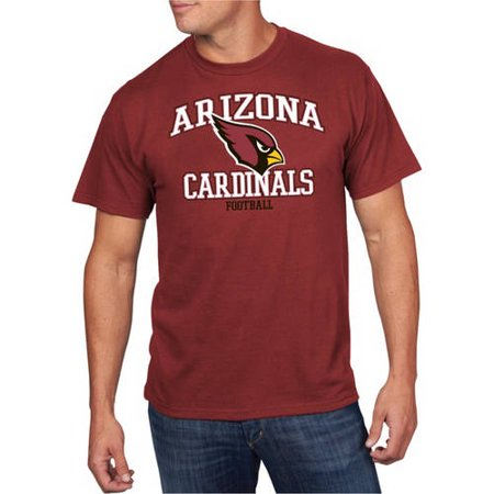 University Of Louisville Cardinal Football - NFL Men's Arizona Cardinals Short Sleeve Tee