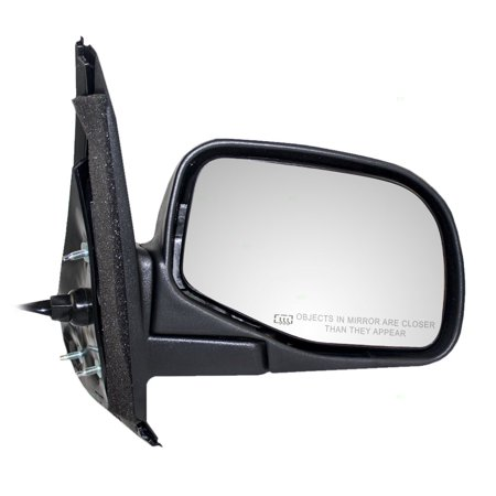 Explorer Power Side View Mirror (Passengers Power Side View Mirror Heated Textured Replacement for Ford Explorer)