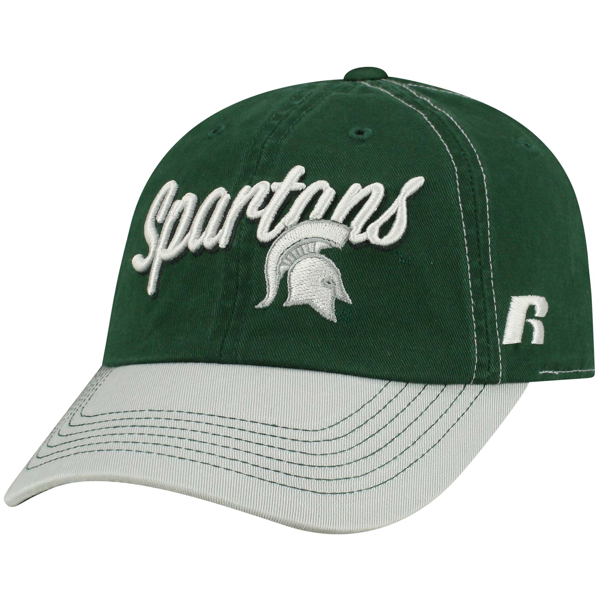 Women's Russell Green Michigan State Spartans Sojourn Adjustable Hat - OSFA