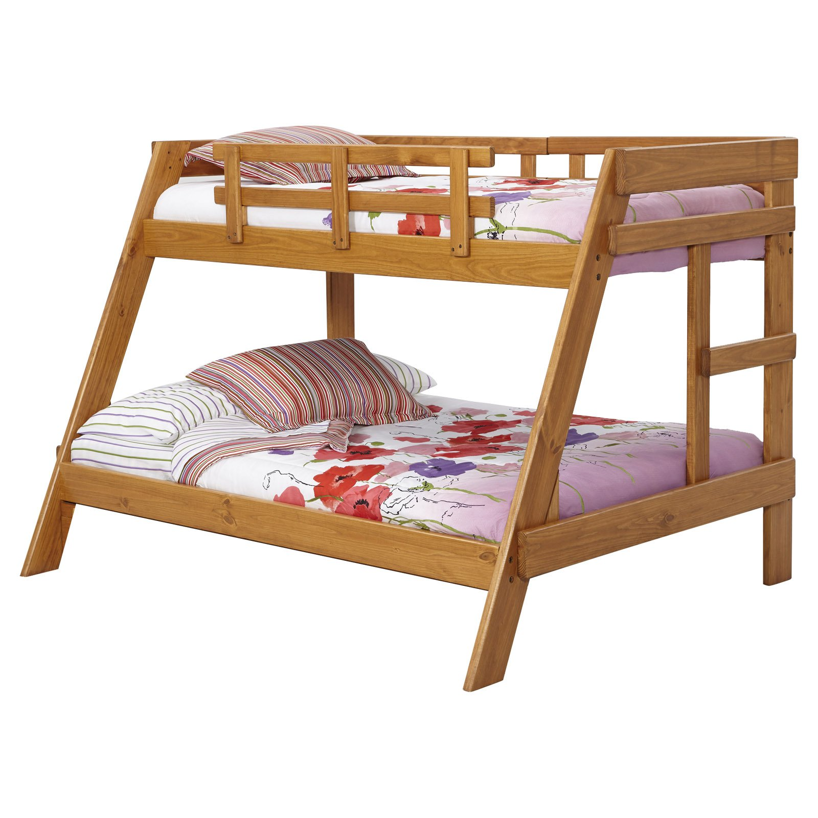 Woodcrest Heartland Twin Over Full Bunk Bed Walmart Com