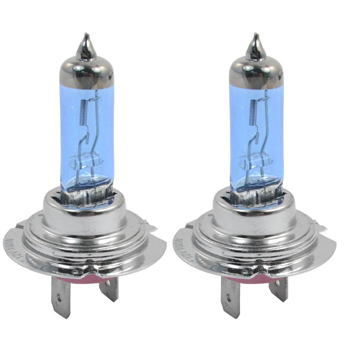 12V 100W White H7 Halogen Auto Truck Headlight Lamp Daytime Bulb 2 Pcs