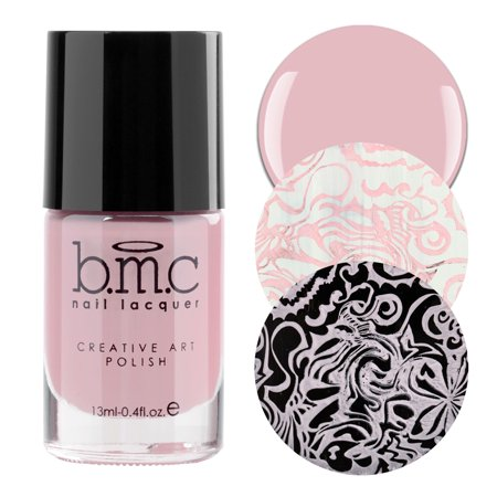 BMC By Bundle Monster Pastel Color Nail Stamping Polish Set - Whatever Forever