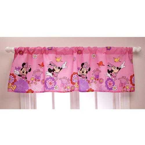 Disney Minnie Mouse Window Valance