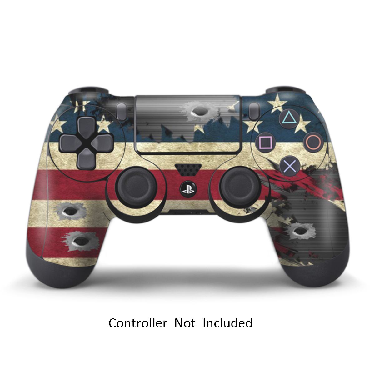 PS4 Skins Playstation 4 Games Sony PS4 Games Decals Custom PS4 Controller Stickers PS4 Remote Controller Skin Playstation 4 Controller Dualshock 4 Vinyl Decal Battle Torn Stripes