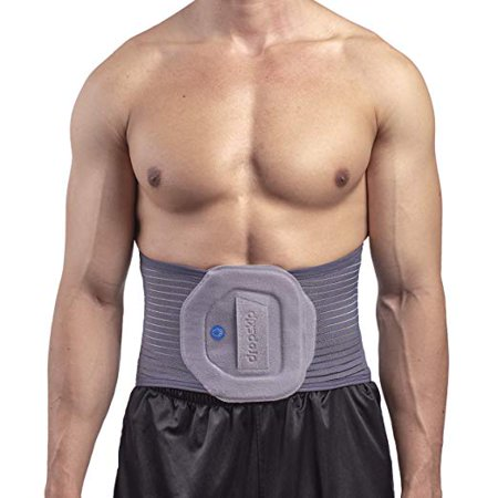 Back Brace Back Support Belt – Breathable Mesh with Removable Heating and Cooling Gel Pack, Lumbar Support Brace for Back Pain, Sciatica, Scoliosis. Great for Walking, Sitting, Sports, Work