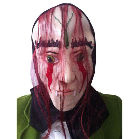Voberry® New Zombie Party Cosplay Costumes Scary Gadgets Clearance Price Halloween Masks Decorations Props