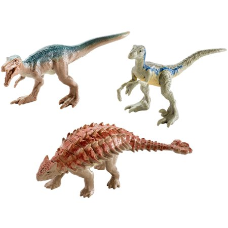 Jurassic World Mini Dino 3-Pack Pack 4 - Dinosaur Gifts For 4 Year Old
