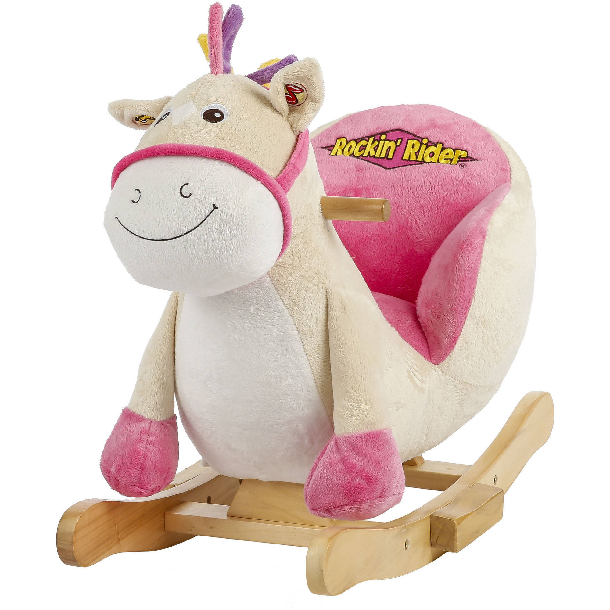 rocking horses for toddlers - rockin' rider giggles baby rocker