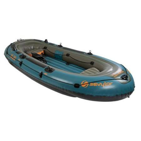 Sevylor fish hunter 6 person inflatable boat for Fish hunter raft