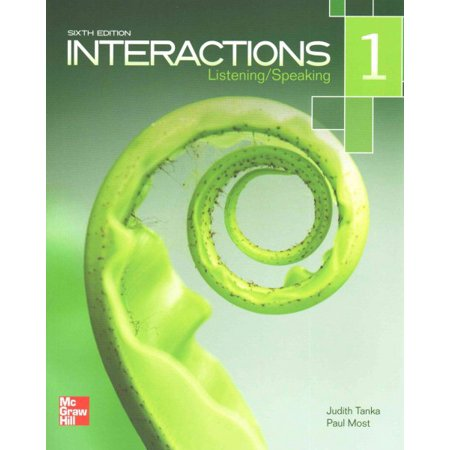 Interactions Listening/Speaking Level 1 Student Book Plus Registration Code for Connect ESL