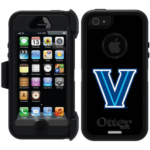 Villanova University V Design on OtterBox Defender Series Case for Apple iPhone 5/5s