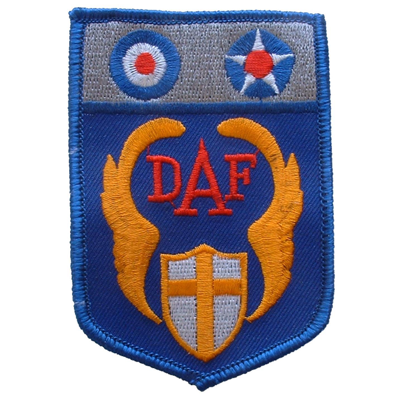 """U.S. Air Force Desert Warfare Patch Blue & Yellow 3"""""""