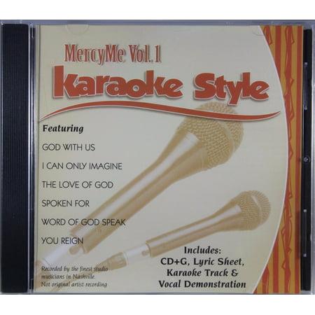 - MercyMe Volume 1 Daywind Christian Karaoke Style NEW CD+G 6 Songs