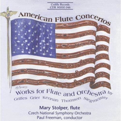 American Flute Ctos: Wrks For Flute & Orchestra