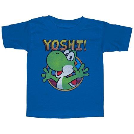 Nintendo Toddler's Yo Yoshi T-Shirt - Is Yoshi A Girl Or A Boy