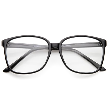 sunglassLA - Contemporary Casual Oversize Thin Frame Clear Lens ...