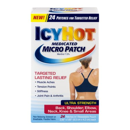 Icy Hot Medicated Micro Patch Ultra Strength   24 Ct