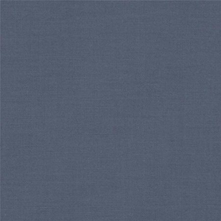 Fabrics Kona Cotton Solid Slate, Sold by the yard. By Robert Kaufman