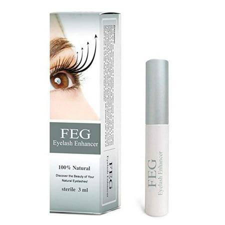Yosoo FEG Eyelash Growth Nourishing Enhancer Eyelash Serum 100% Natural For Longer & Darker Eyelash, Eyelash Serum, Eyelash Thicker - image 7 of 9