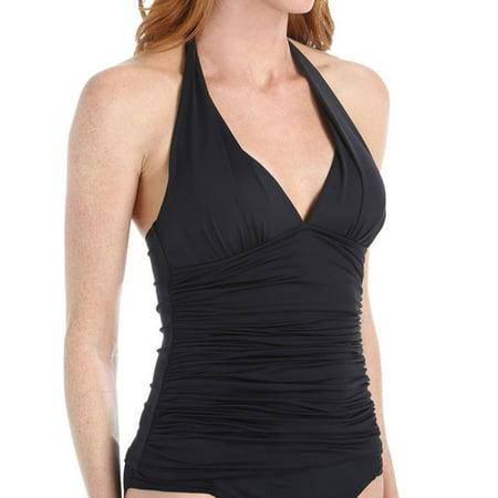 46ee1070121a0 La Blanca - women's la blanca lb6ba84 island halter tankini swim top -  Walmart.com