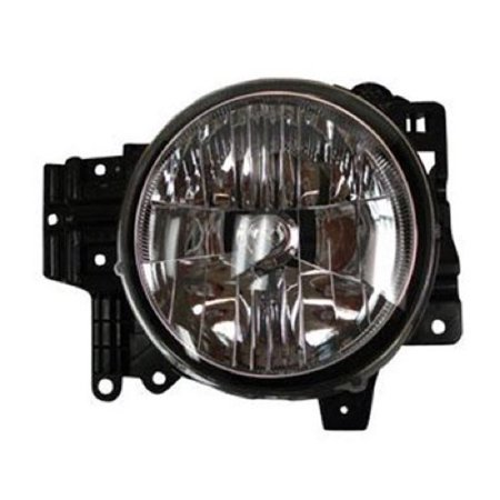 Go-Parts » 2007 - 2014 Toyota FJ Cruiser Front Headlight Headlamp Assembly Front Housing / Lens / Cover - Right (Passenger) Side 81140-35465 TO2503173 Replacement For Toyota FJ Cruiser ()