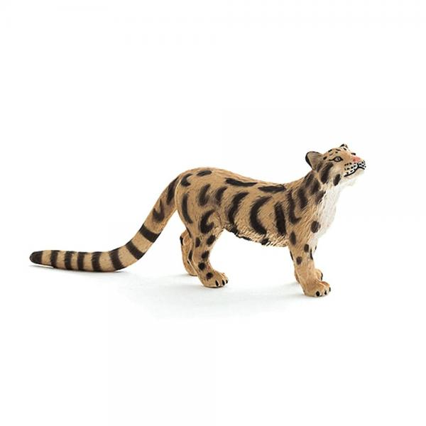 Mojo Fun 387172 Clouded Leopard - Realistic Wild Cat Toy ...