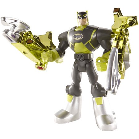 Batman The Brave & The Bold Total Armor Battle Claw Batman Action