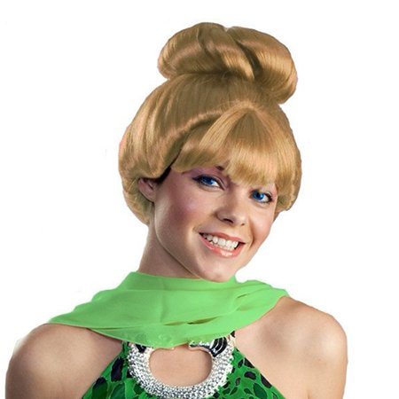 Tinker Bell Wig Peter Pan Disney Fairy Tinkerbell Womens Adult Tink Costume - Tinkerbell And Peter Pan Costume