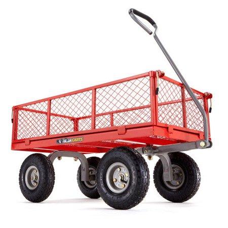 Gorilla Carts GOR800-COM 800 lb. Capacity Steel Utility Cart