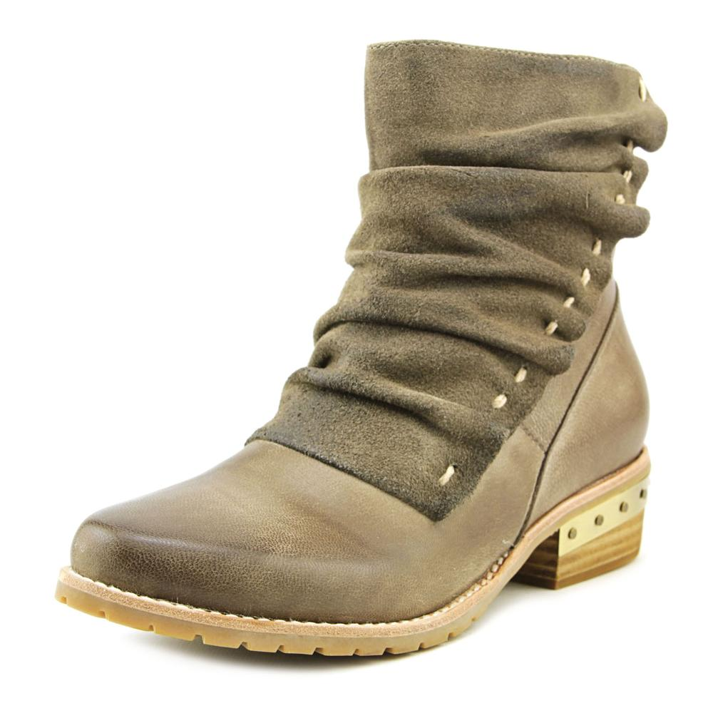 Antelope 471 Women  Round Toe Leather Gray Boot