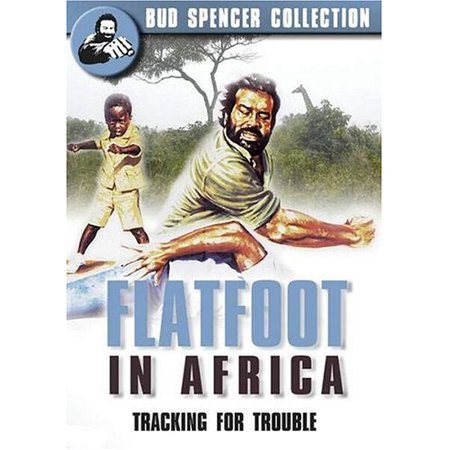 Flatfoot In Africa ( Piedone l'africano ) ( Knock-Out Cop (Flat foot In Africa) ) [ NON-USA FORMAT, PAL, Reg.2 Import - Netherlands ] ()