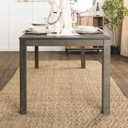 Wood Dining Table Aged Grey Multiple Colors Available - Aged wood dining table