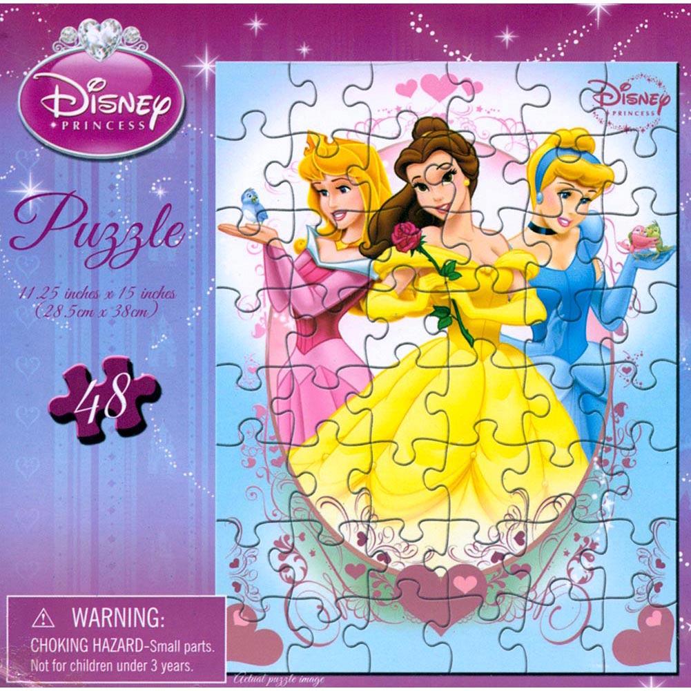 Disney Princess Cinderella 48 Piece Puzzle
