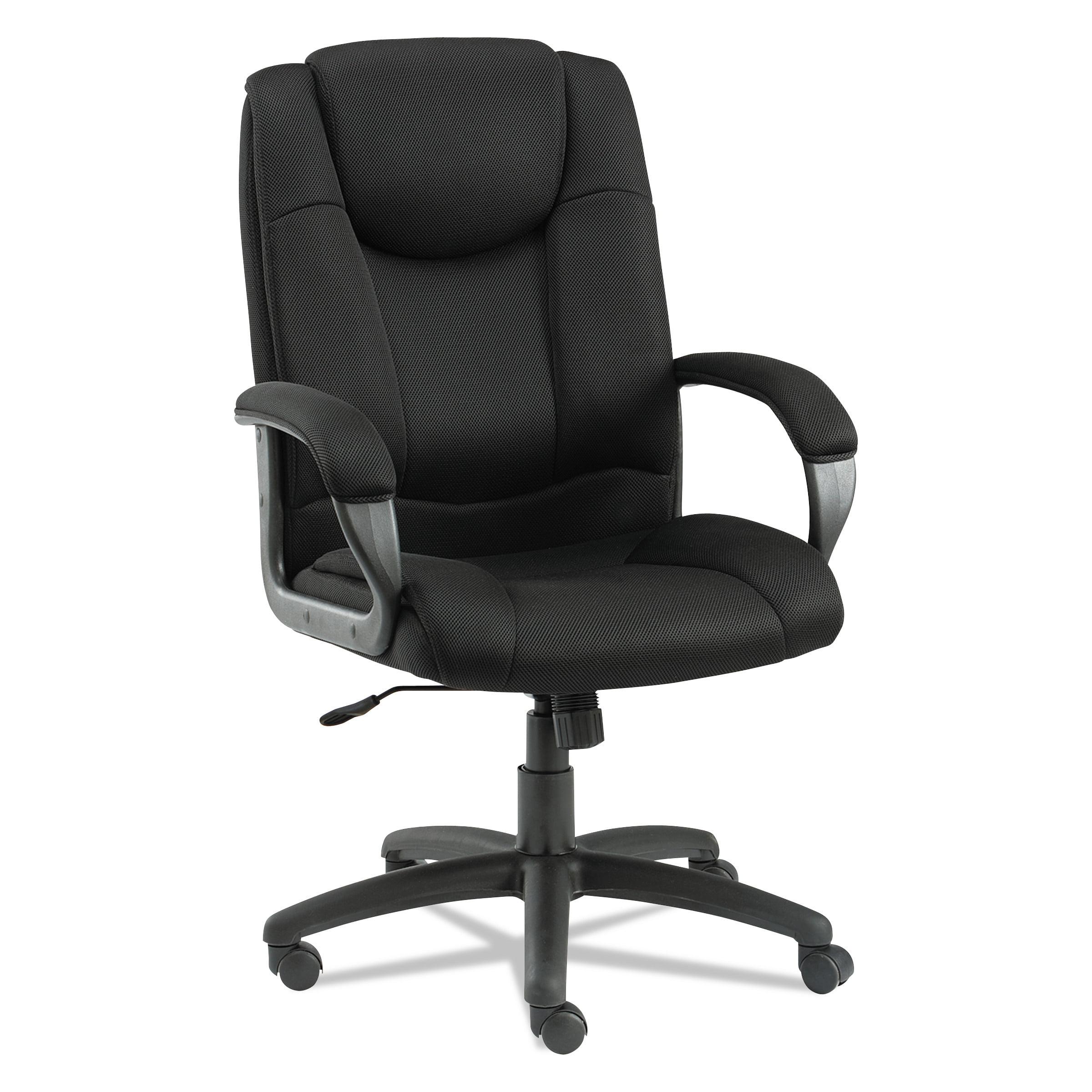 Alera Logan Series Mesh High-Back Swivel Tilt Chair, Black by ALERA