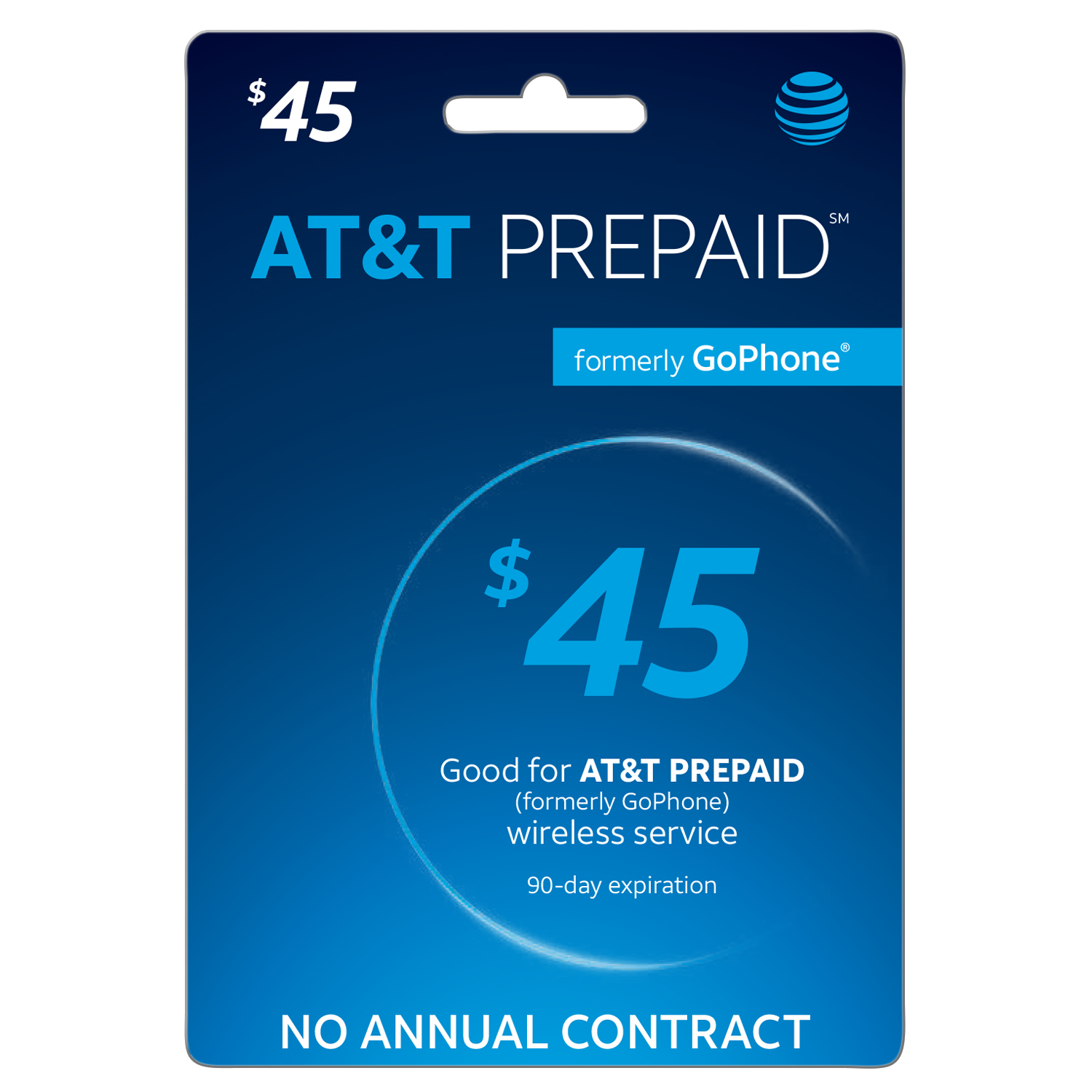 AT&T PREPAID Direct Load $45 (Email Delivery)