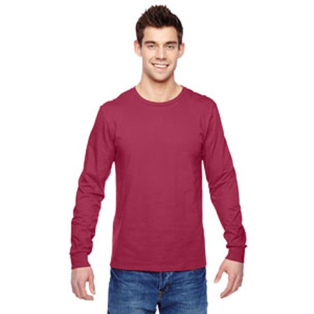 Fruit of the Loom Adult 4.7 oz. Sofspun® Jersey Long-Sleeve T-Shirt - Retro Wool Long Sleeve Jersey