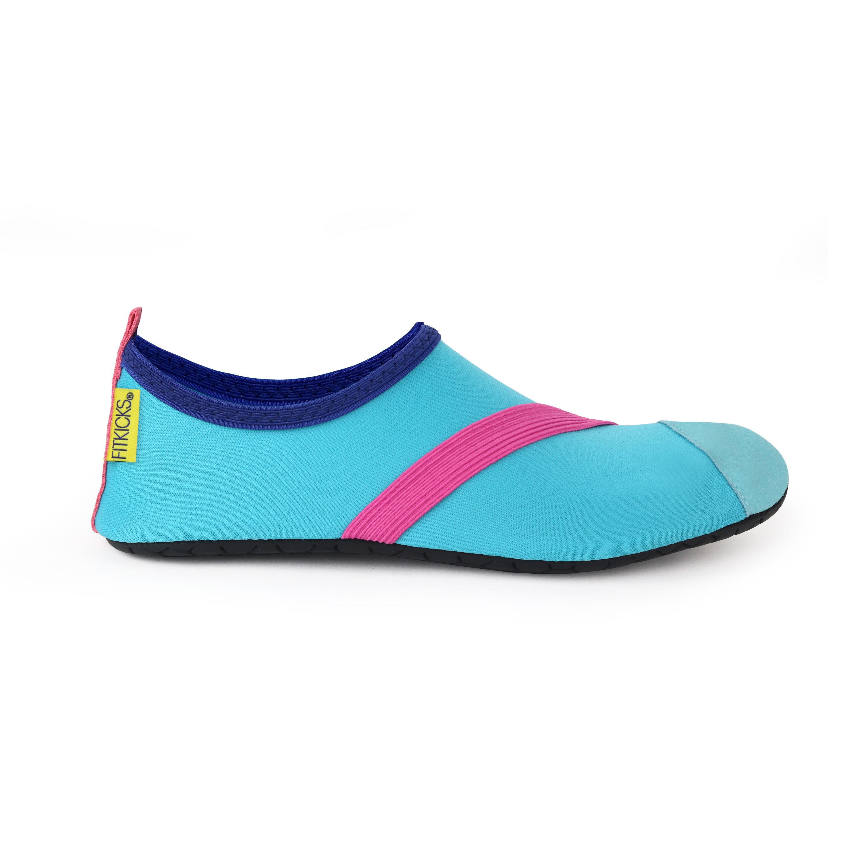 FitKicks Original Womens Foldable Active Lifestyle Minimalist Footwear Barefoot Yoga Sporty Water Shoes