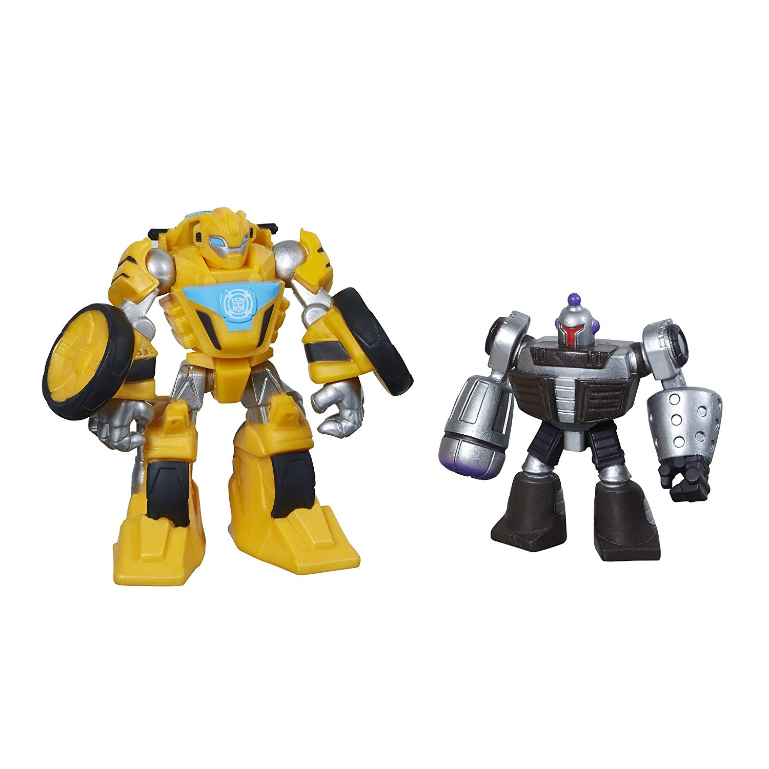Heroes Transformers Rescue Bots Bumblebee and Morbot Figure PackProduct does not convert... by