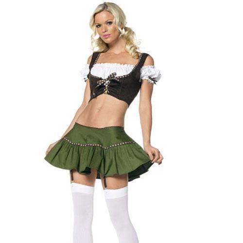 Leg Avenue Fraulein Girl German Adult Halloween Costume Size M/L (10-14) #53020