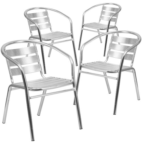 Flash Furniture Patio Dining Chair (Set of 4)