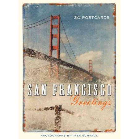 San francisco greetings : 30 postcards: (Map Postcard)
