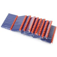 100Pcs Toy Gun Refill Foam Soft Darts Bullet For Nerf N-strike Series Blasters 7.2x1.2cm