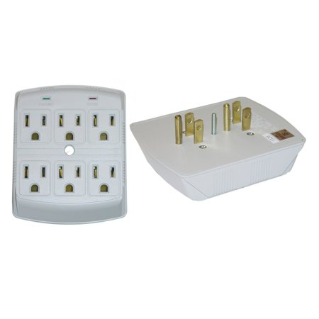 Offex  MOV 270 Joules Surge Protector 6-outlet (Mov Surge Protector)