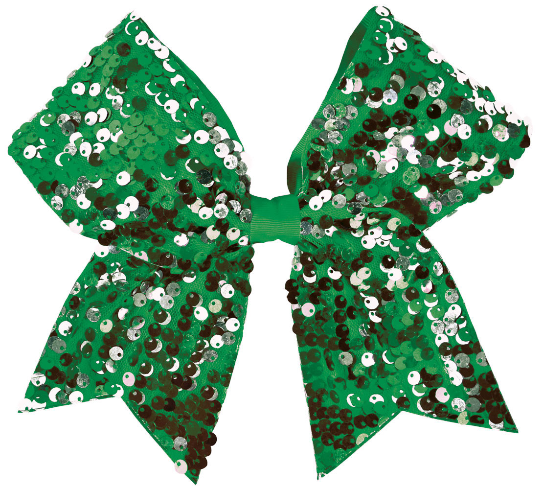 Dangle Sequin Performance Hair Bow
