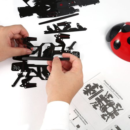 Remote Control Simulate Ladybug Electronic Toy DIY Children Gift Novelty Toy - image 6 of 8