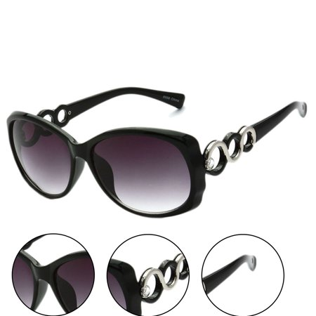 """Eternal"" Dual Tone Women Fashion Sunglasses"