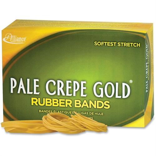Pale Crepe Gold No. 54 Rubber Bands 20545
