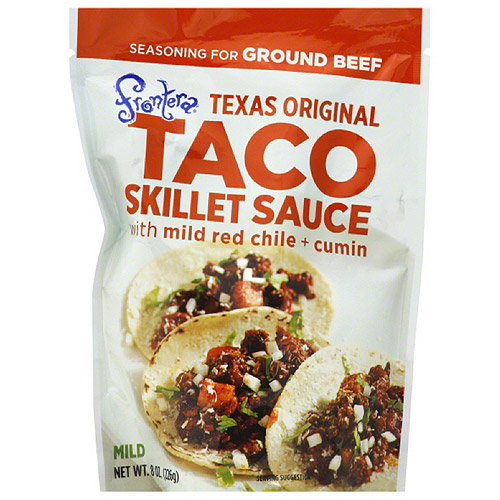 Frontera Taco Skillet Sauce with Mild Red Chile + Cumin, 8 oz, (Pack of 6)